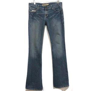BKE Emma Bootcut Jeans Medium Wash Size 30/size 10